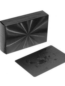 black poker cards