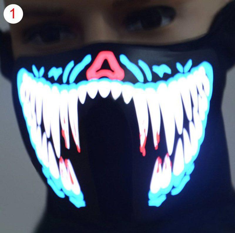 Led Halloween Mask