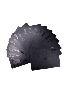 black poker cards