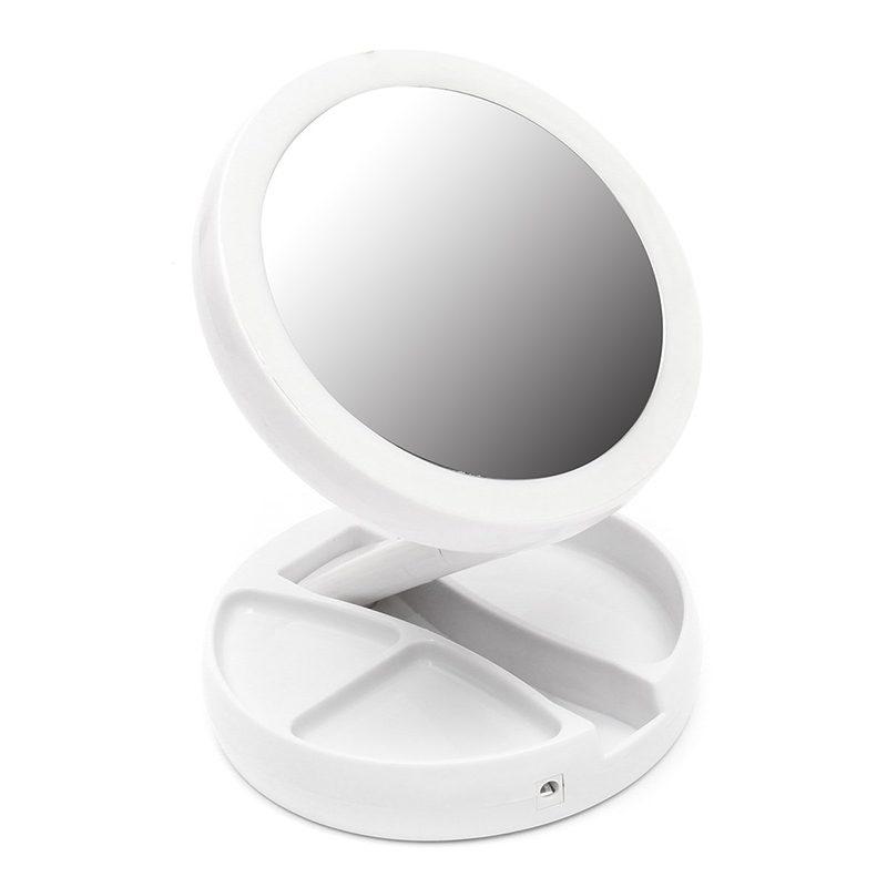 foldaway mirror