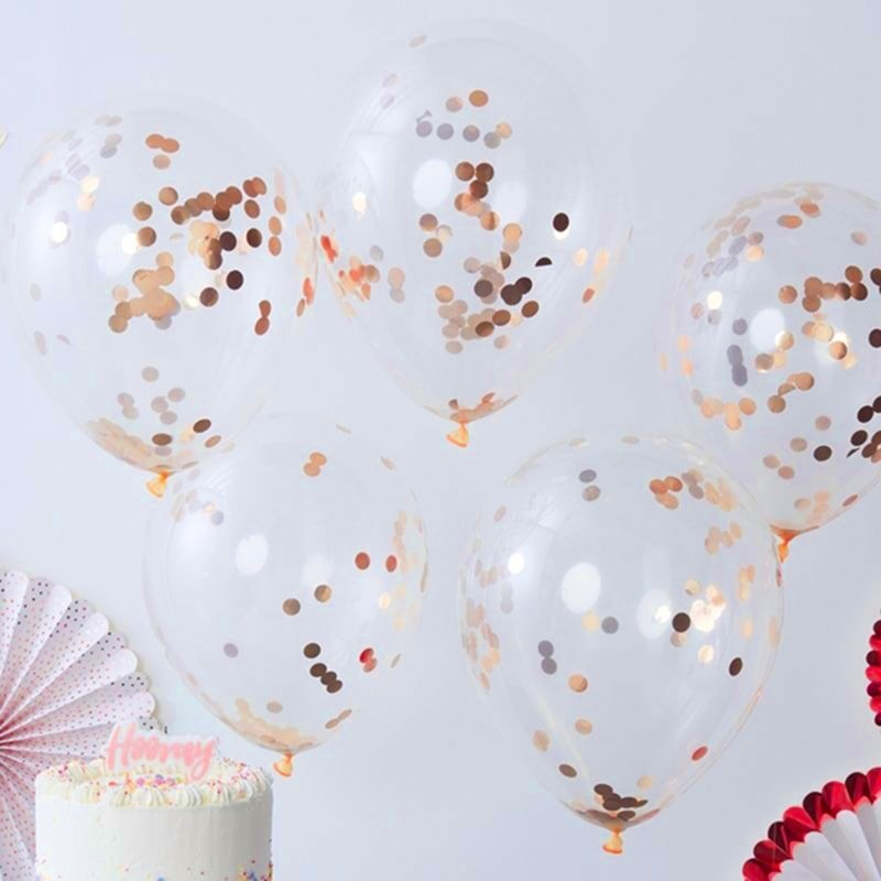Confetti Bubble Balloon