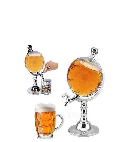 buy crystal globe drink dispenser
