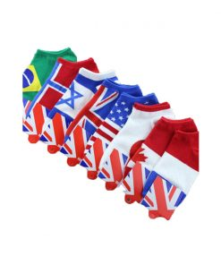 best flag ankle socks