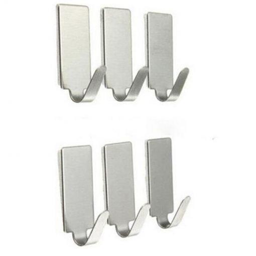 adhesive wall hooks
