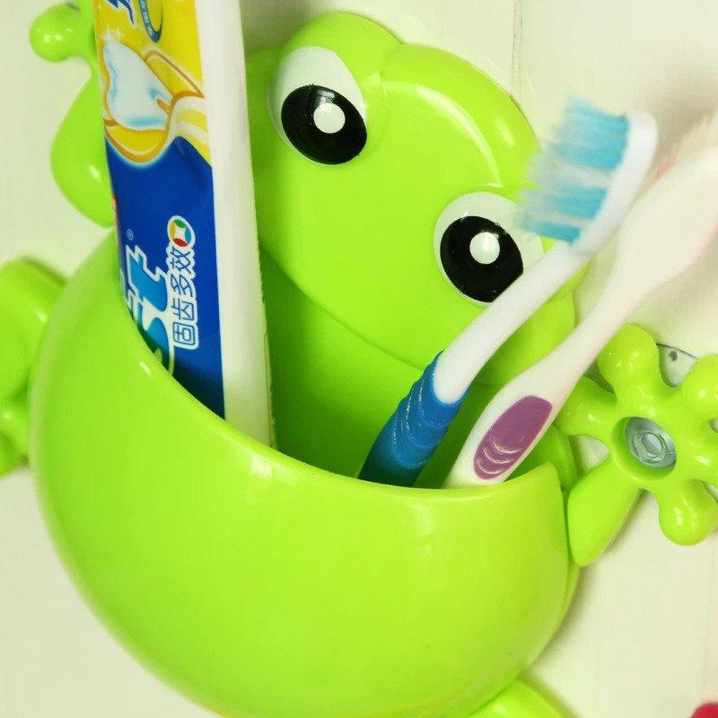 Frog Toothbrush Holder