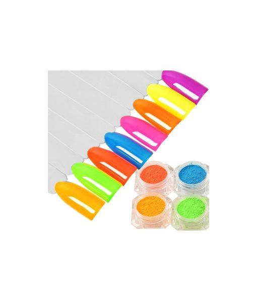 fluorescent nail polish