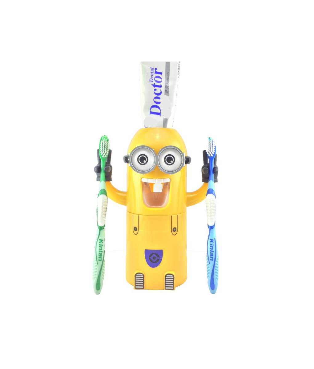 Minion Toothpaste Dispenser-Mexten Product is of high quality