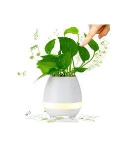 led music planter pot music pots