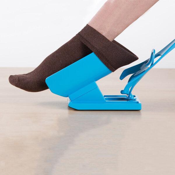 Sock Slider-Sock Aid Device