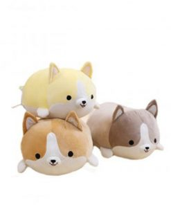 buy cute corgi dog plush pillow