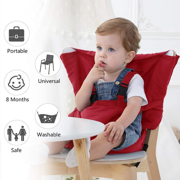 Portable Safety Belt Baby Seat