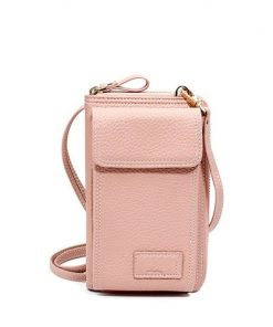 buy Women Solid Faux Leather Small Clutch Bag