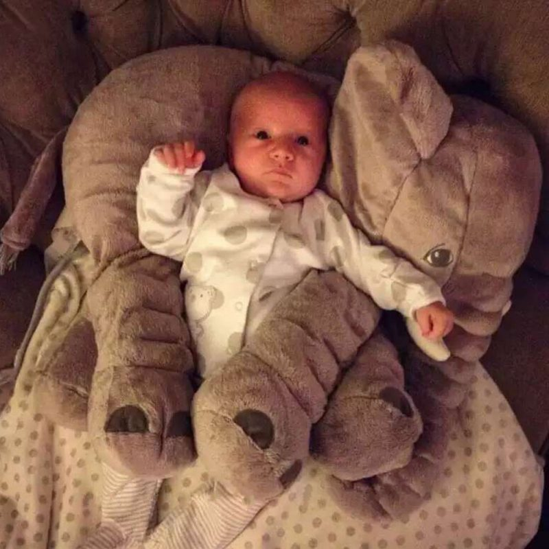 Baby Elephant Pillow-Mexten Product is very high quality