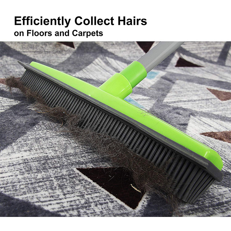 Pet Hair Rubber Broom Mexten Product Is Of Very High Quality