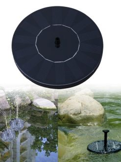 solar powered water feature
