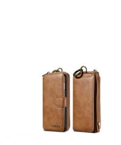 buy leather wallet case iphone