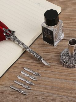 Quill Feather Calligraphy Pen Set
