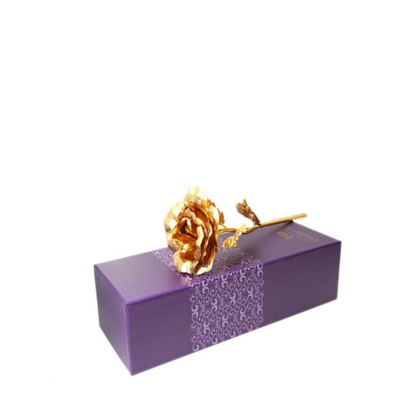 gold foil rose