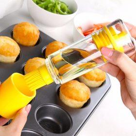 Silicone Honey Oil Brush Bottle
