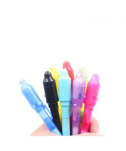 invisible ink pen uv light pen