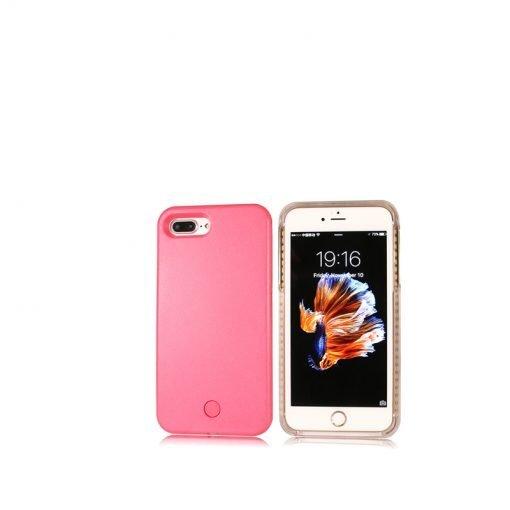 selfie light iphone case