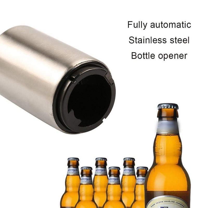 Portable Magnetic Automatic Bottle Opener