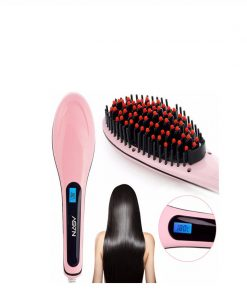 hair straightener brush