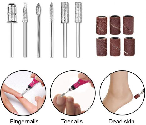 Professional Electric Nail Kit