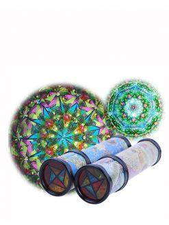 Rotating Stretchable Magic Kaleidoscope