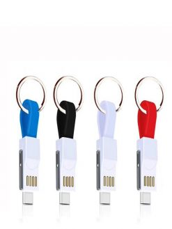 3-in-1 Keychain usb magnetic charging Cable