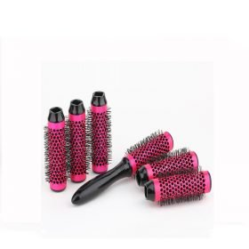 buy Curl Round Styling Hair Brush with Detachable Roller