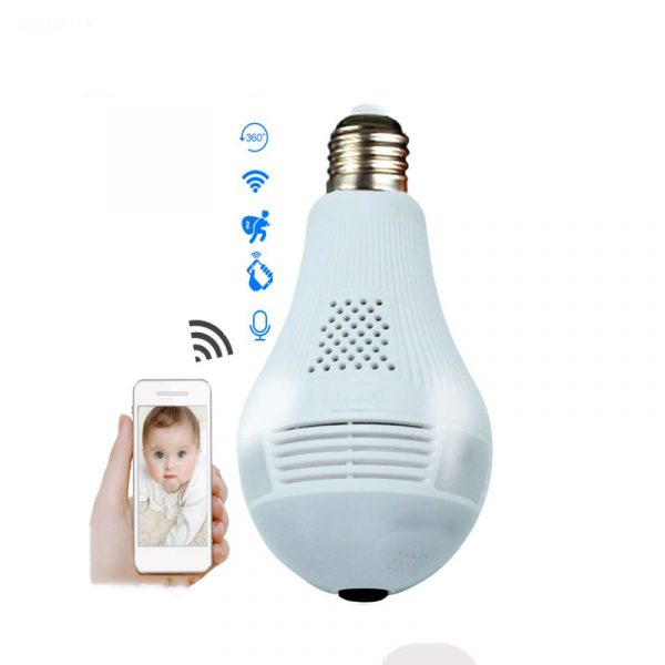 light bulb camera