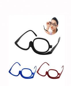 3 Colors Reading Glass Magnifying Glasses Makeup Folding Eyeglasses Cosmetic General Men's Glasses Apparel Accessories