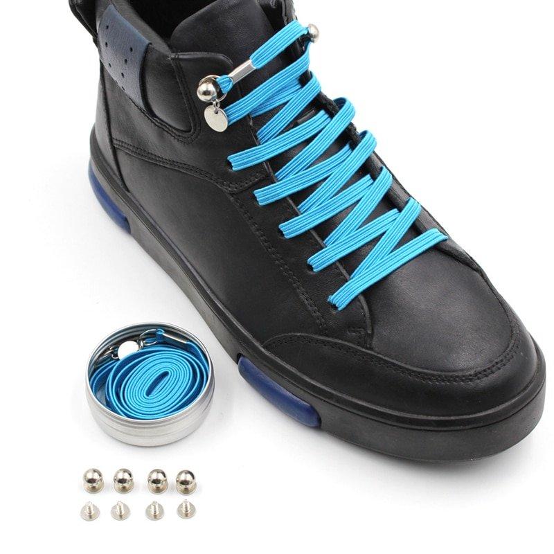 Buy Elastic One Hand No Tie Shoelaces