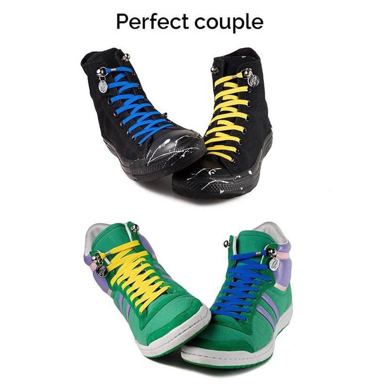 8a4c99fea055 Buy Elastic One Hand No Tie Shoelaces-Mexten Product is of high quality