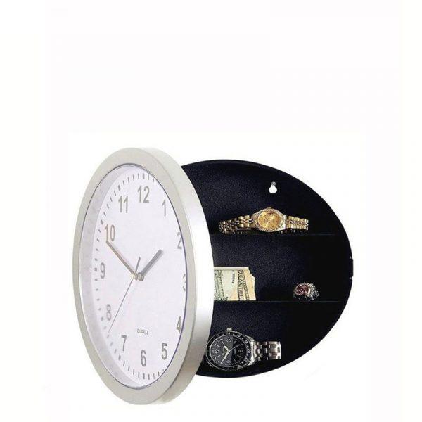 wall Secret Clock safe box