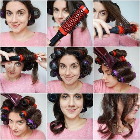 Curl Round Styling Brush