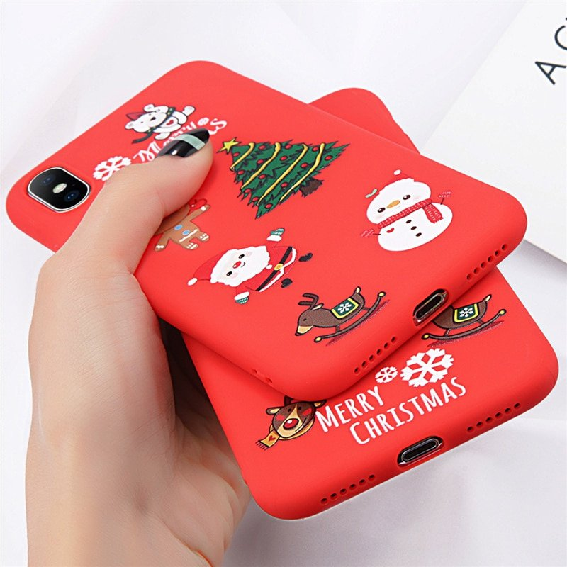 Cute Christmas Phone Case iPhone - MEXTEN Product is of high quality