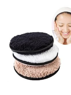 flutter wash cotton flapping Clean Sponge Makeup Remover Pads