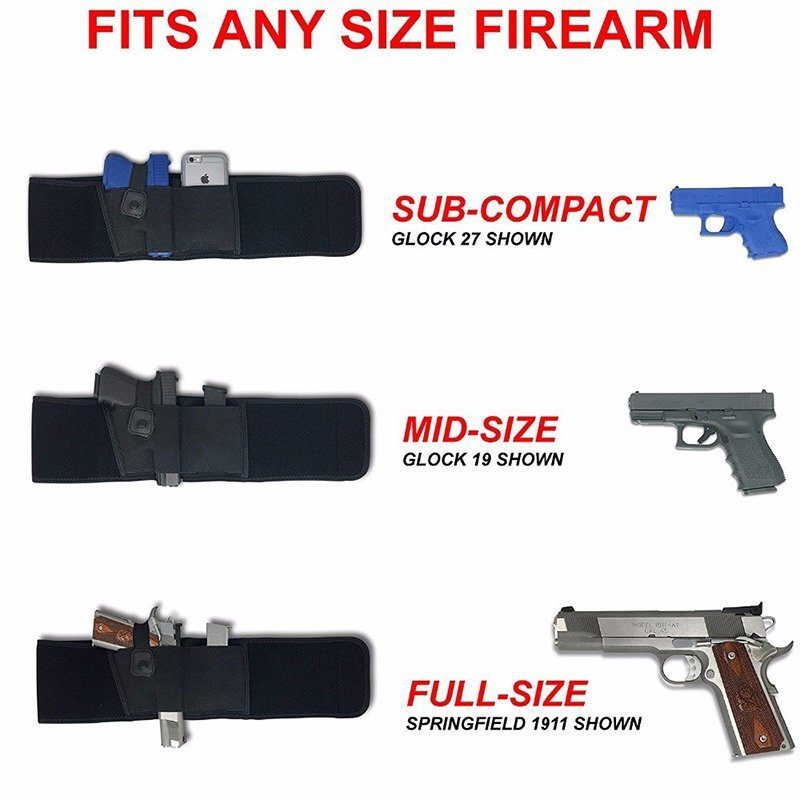 Ultimate Belly Band Holster - MEXTEN Product is of high quality