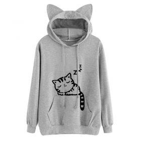 Cat Ears Sweatshirt