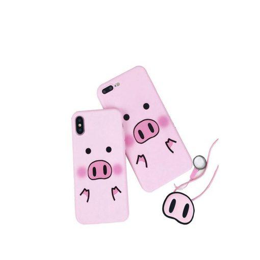 buy Cute Cartoon Pig Iphone Case