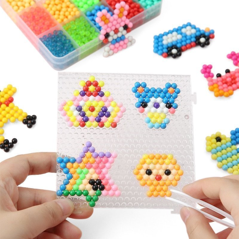 3D Magic Water Sticky Beads