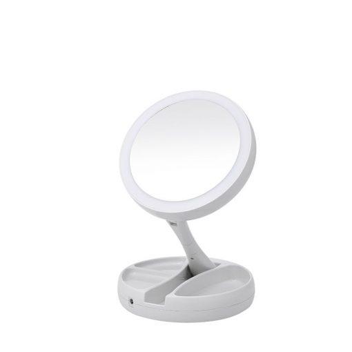 buy Foldable LED Travel Mirror