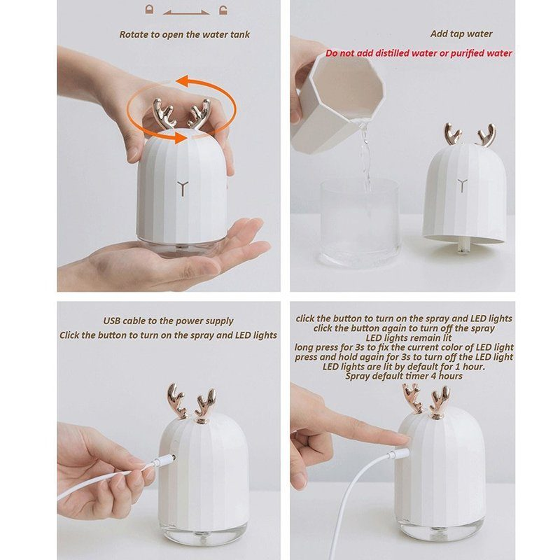 Mini Ultrasonic Air Humidifier