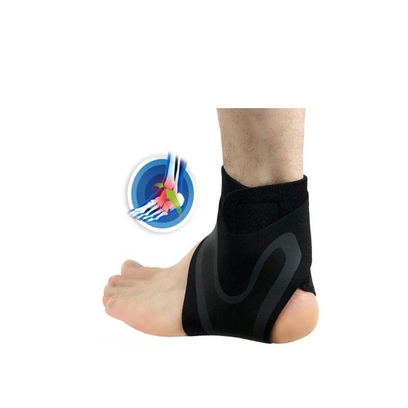 ADJUSTABLE ELASTIC ANKLE SLEEVE Elastic Ankle Brace Guard Foot Sports New