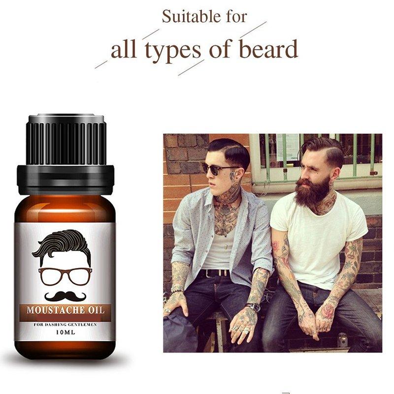 Pure Organic Hair Growth Essence Mustache Oil