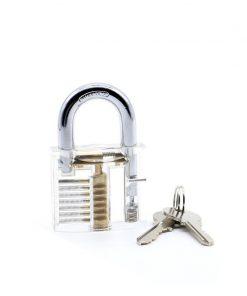 buy Transparent Practice Padlock Set