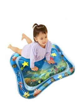 buy Tummy Time Inflatable Water Mat for Babies