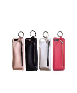 buy Iphone Case With Leather Pouch and Keyring